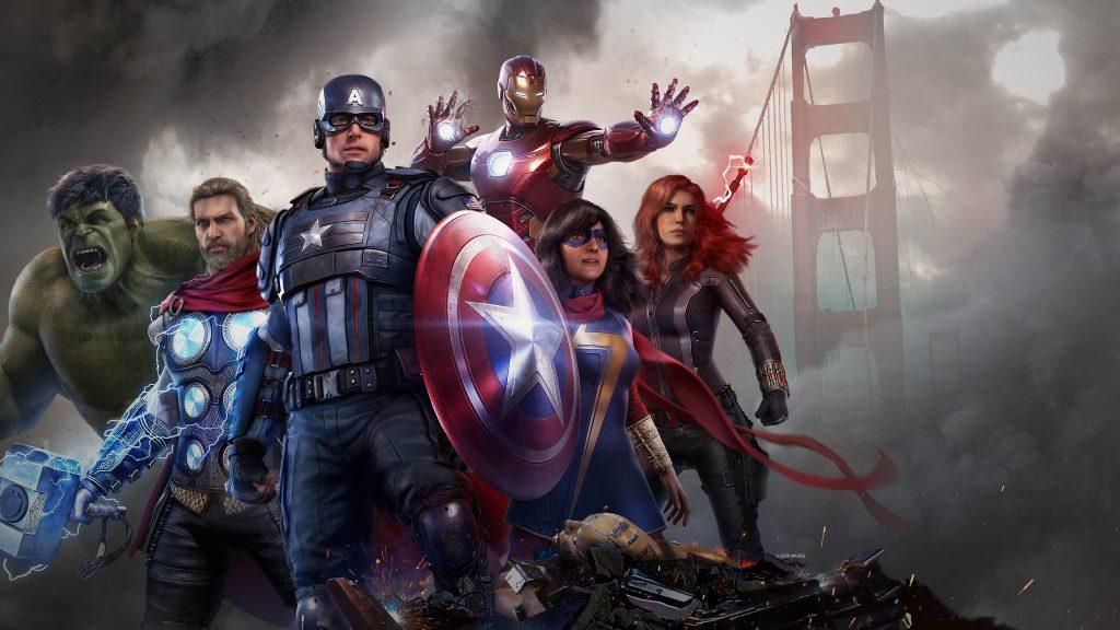 Avengers jogo
