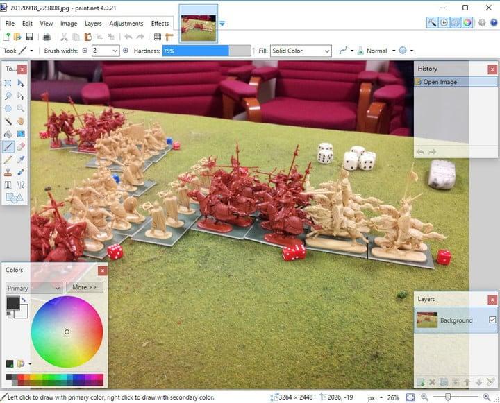 O paint. Net é considerado um dos melhores editores de imagens gratuitos e comparado a diversos outros softwares de edição
