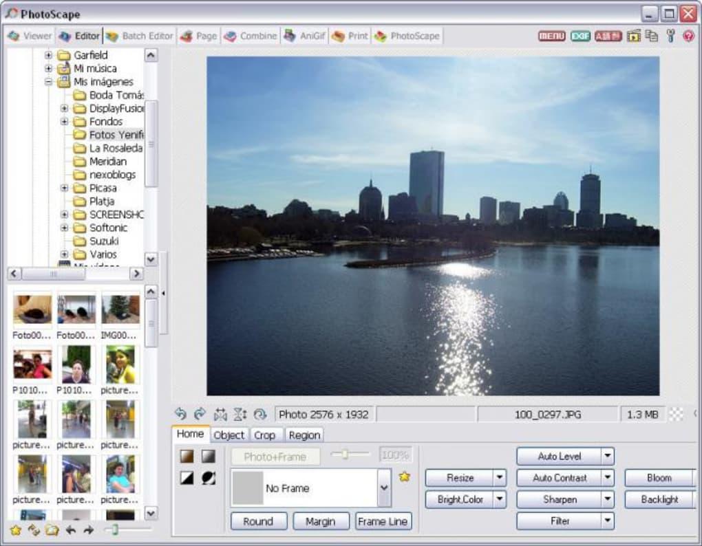 O photoscape, apesar de possuir uma interface mais complexa, é um dos melhores editores de imagem gratuitos