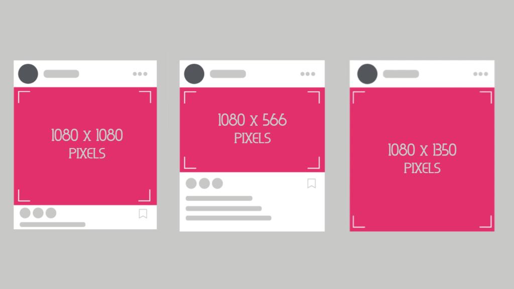 Especificações de tamanho para manter a qualidade das fotos no instagram