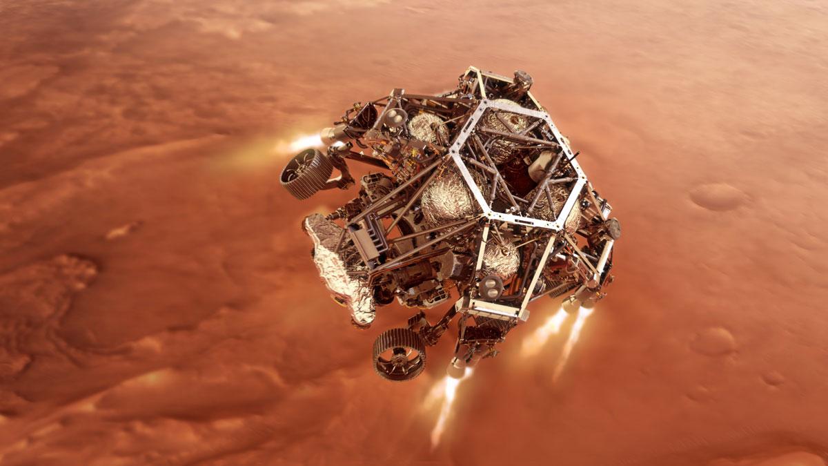 Robô perseverance pousa em marte hoje, veja como assistir. Perseverance pousa em marte hoje, se preparando para coletar pedras marcianas, análises de terrenos e ajudar a humanidade na exploração espacial