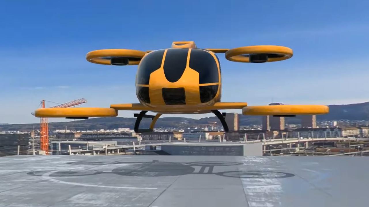 Programa de carros voadores da europa começa em 2022