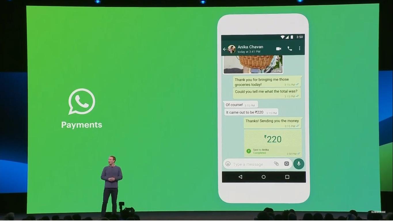 Whatsapp pay negocia com bc