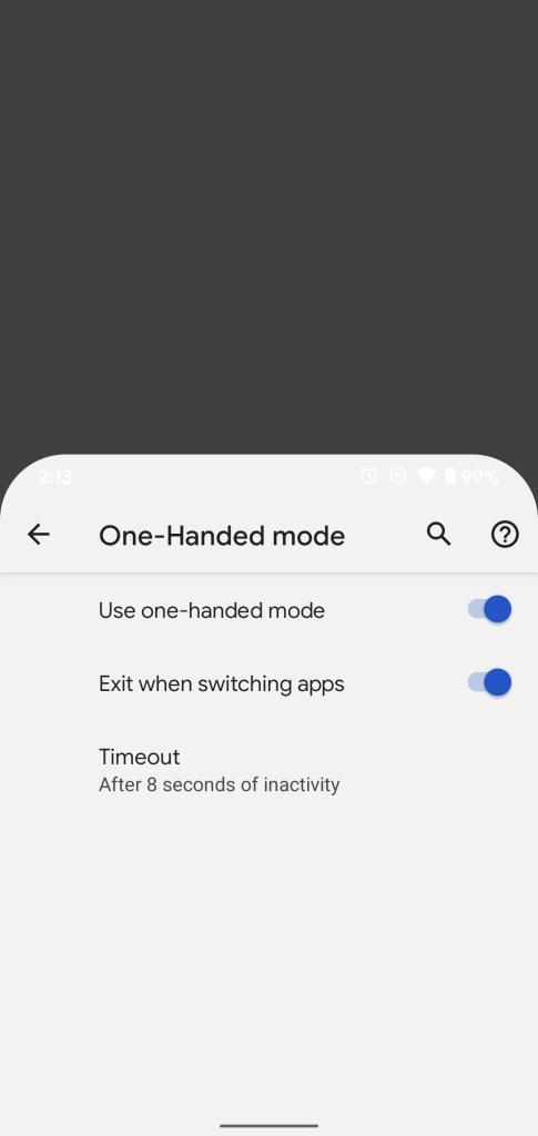 Preview do android 12 tem modo compacto para usar com uma mão. Novo preview do android 12 mostra o modo compacto, para uso de celulares de tela grande com uma mão só, novo visual da tela de senhas e o espaço de pessoas