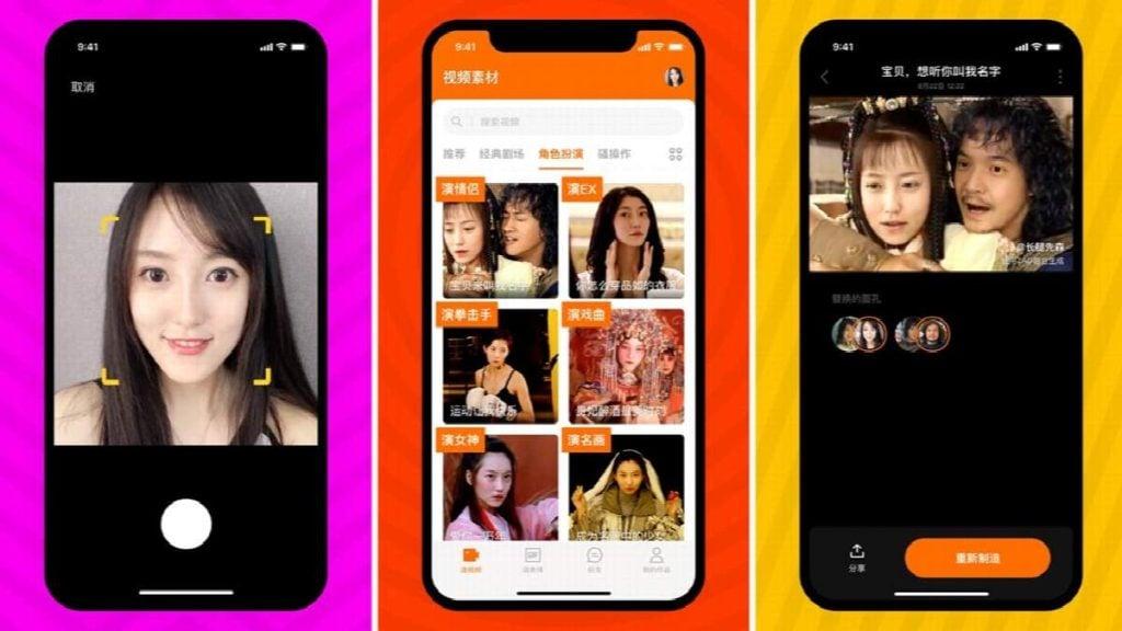 O zao é um dos apps de deepfake mais populares na china e consegue produzir resultados impressionantes