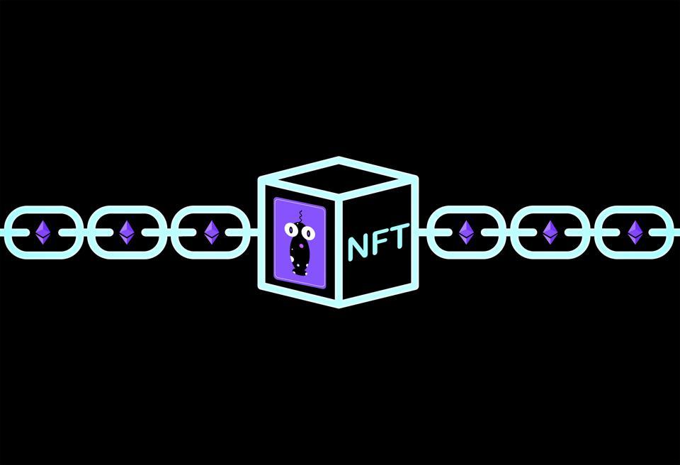 O nft é armazenado no blockchain ethereum