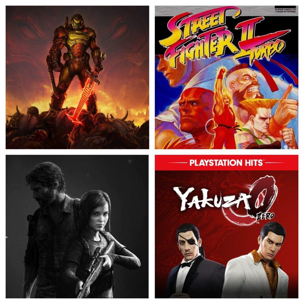 Trilha sonoras de jogos de ação e aventura