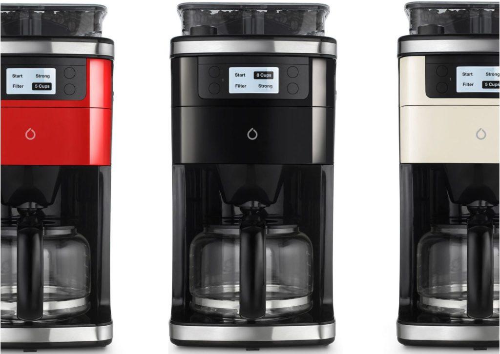 A cafeteira de cápsula smarter com wi-fi ainda não está disponível no mercado brasileiro