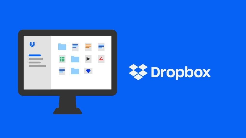 Dropbox em nuvem