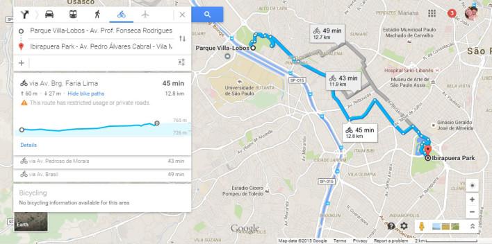Google maps inclui realidade aumentada
