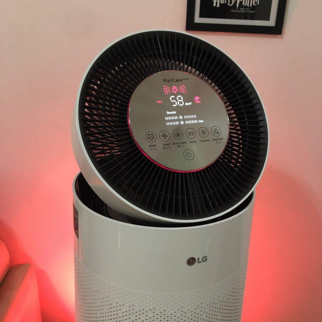 Review: lg puricare 360º é tecnologia em prol de qualidade de vida. O novo purificador de ar da lg, puricare 360º, garante alta qualidade de ar em ambientes fechados, eliminando até mesmo vírus como o da covid-19