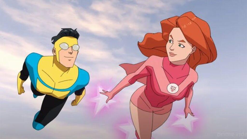 Assistimos invincible, a série animada de heróis do amazon prime video. Invincible pode enganar o público por ser bastante colorida, mas ação e sangue passam bem o recado da série