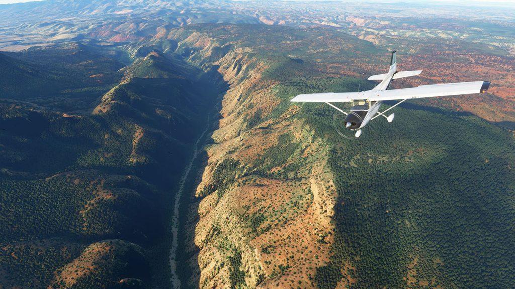 Microsoft flight simulator testes nos processadores rocket lake-s