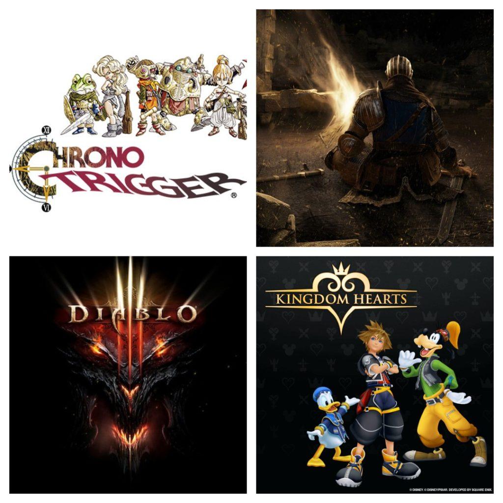 Trilhas sonoras dos games do gênero rpg