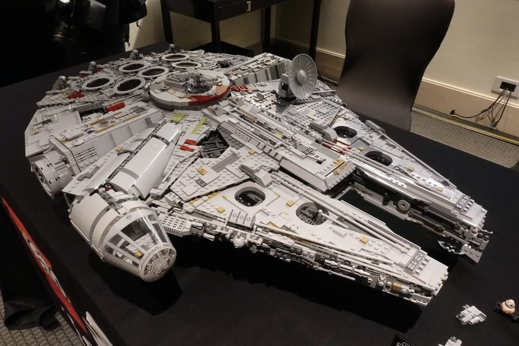 Millenium falcon de lego