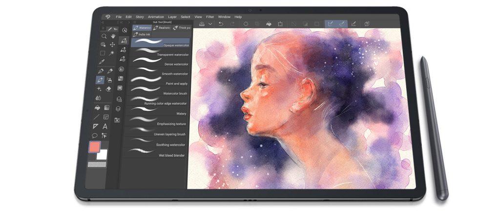 S pen é uma ótima companhia para o galaxy tab s7
