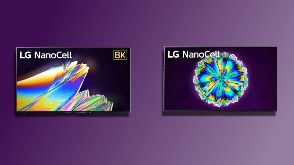 Linha nanocell da lg em 4k e 8k