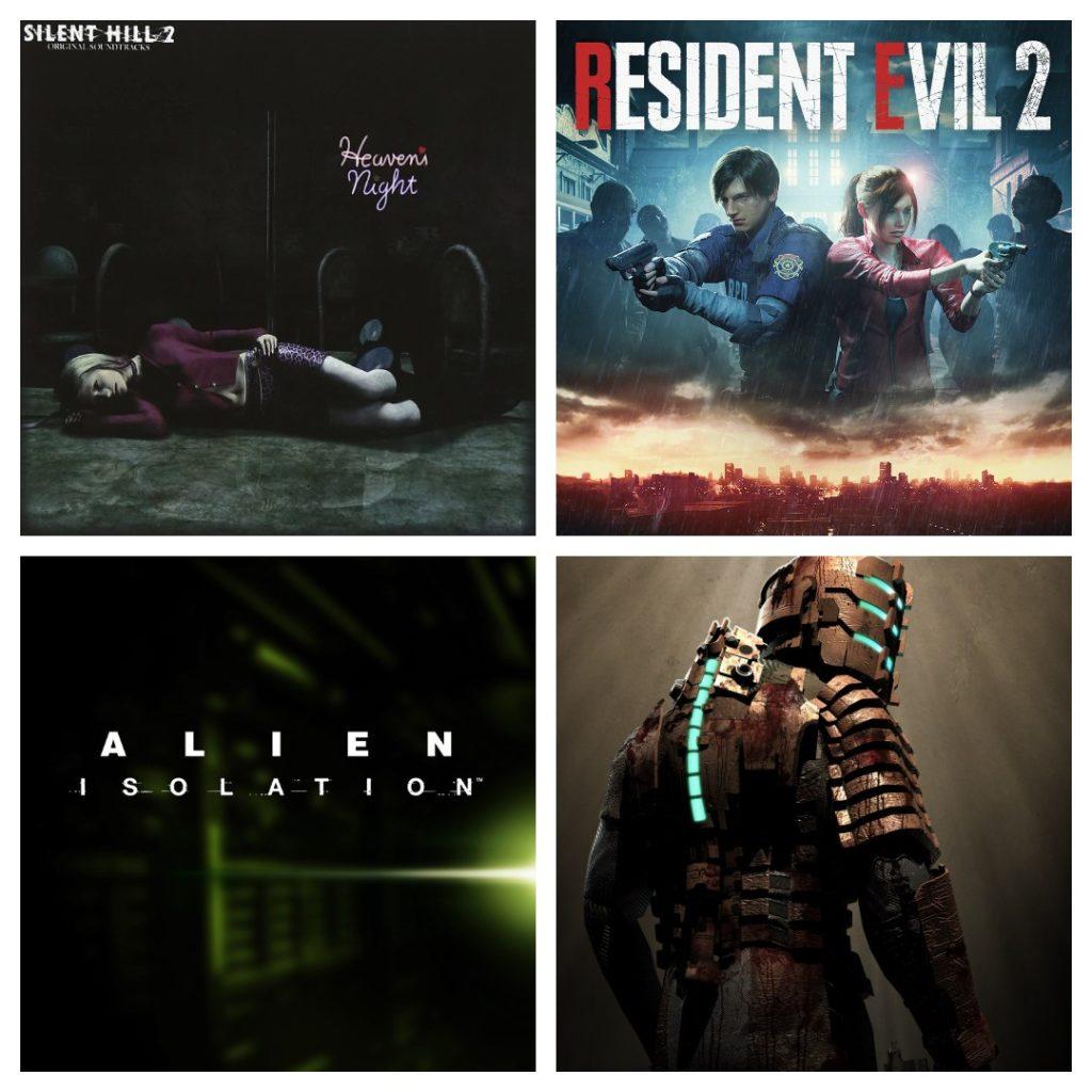Trilhas sonoras dos jogos de terror