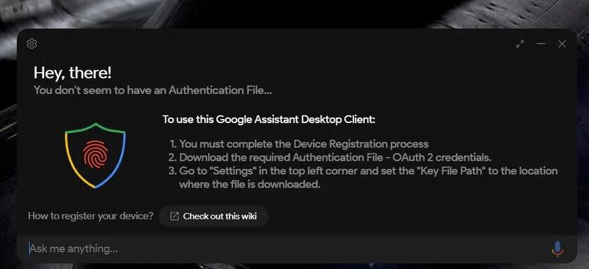Google assistente para windows