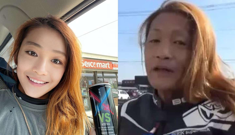 Homem de 50 anos utilizando deepfakes