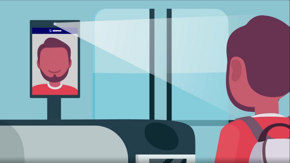 Embarque com reconhecimento facial