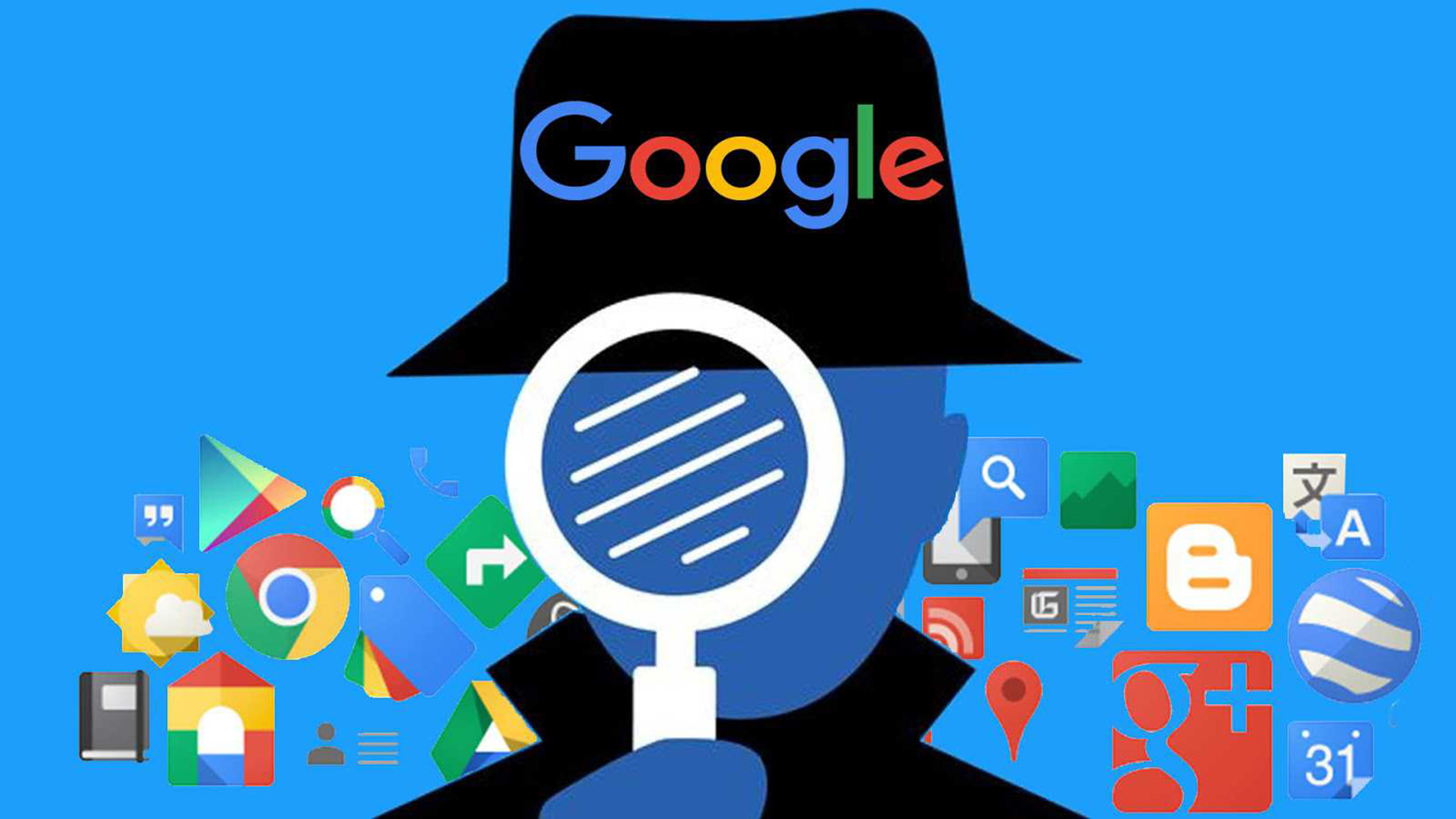 O que o google sabe sobre você