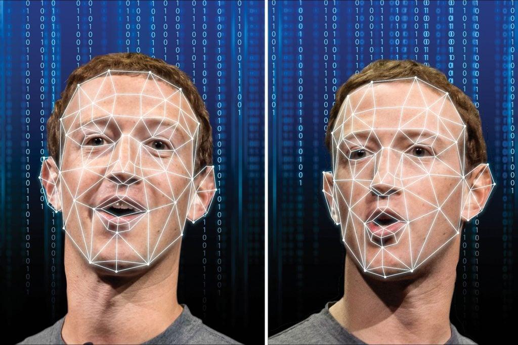 Apps de deepfake podem gerar vídeos falsos com até mesmo o rosto de mark zuckerberg