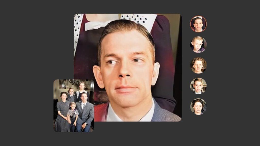 Além de restaurar fotos antigas e organizar sua árvore genealógica, o myheritage pode animar os rostos de quaisquer pessoas