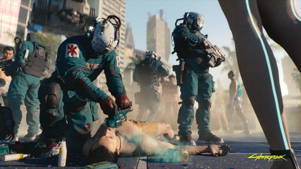Atualização de cyberpunk 2077