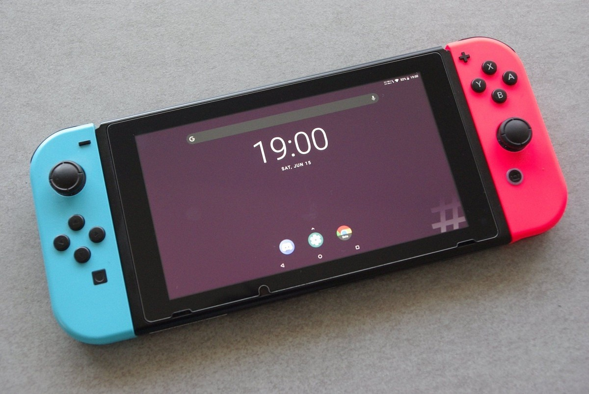 Nintendo switch rodando android