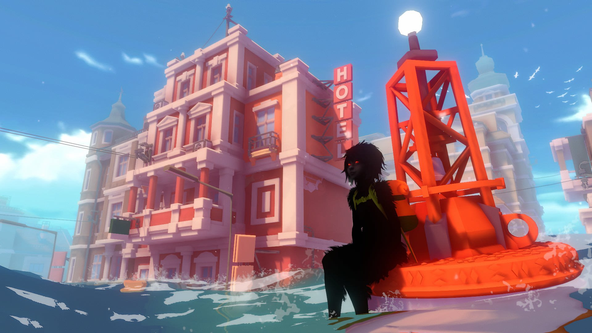 Melhores jogos indie de março: sea of solitude e muito mais. Nos melhores jogos indie de março você vai viver aventuras em um mar solitário, pilotar um carro de sucata e patinar e atirar ao mesmo tempo