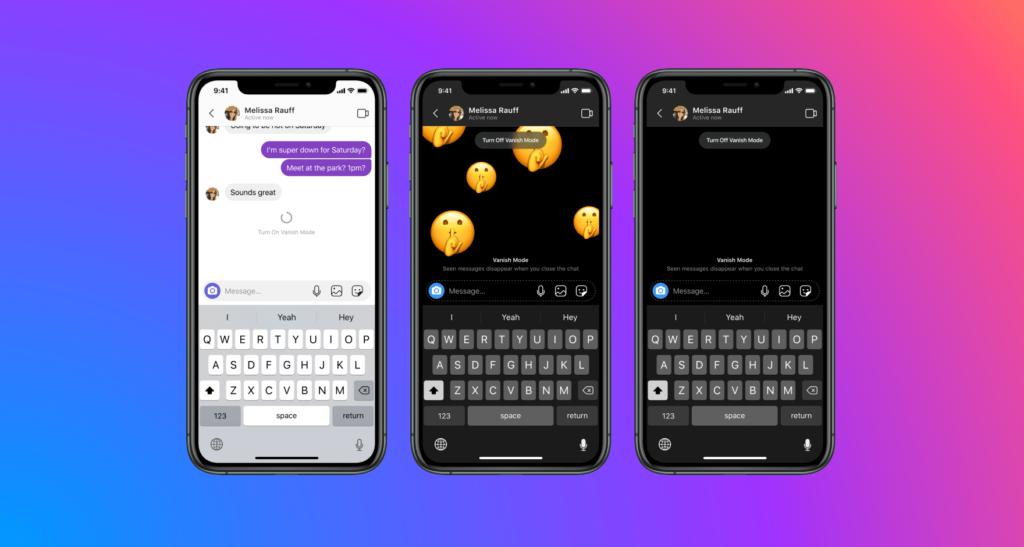 Integração de mensagens do instagram e messenger