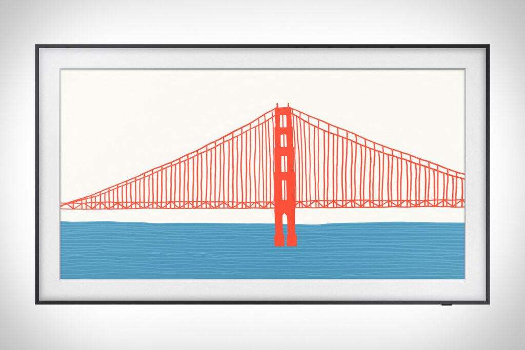 The frame 2021 golden gate bridge