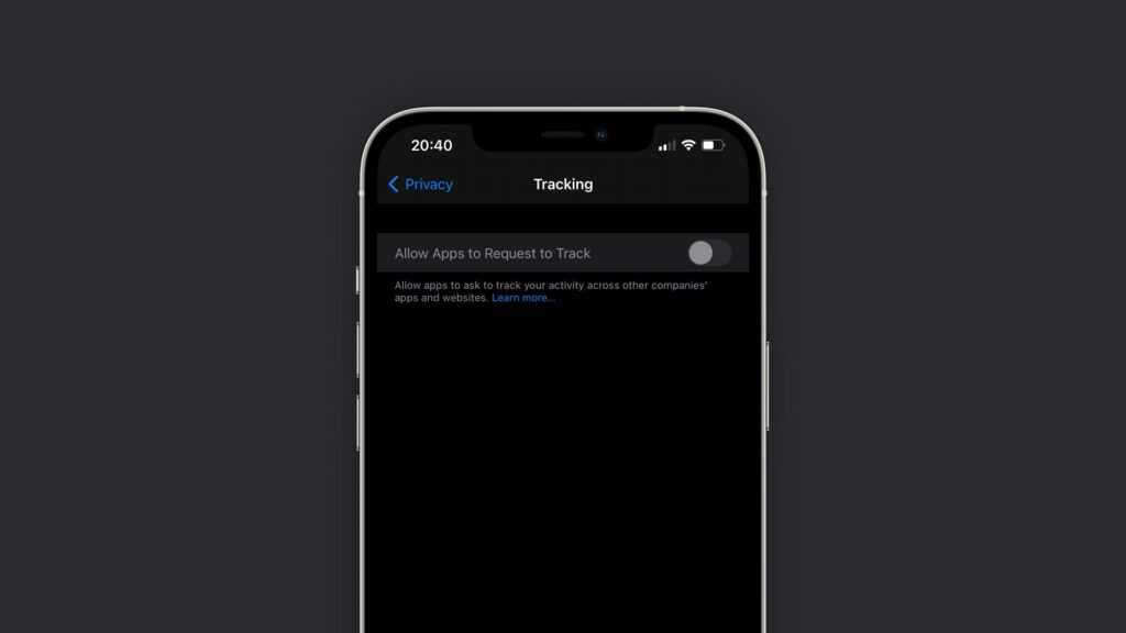 Bloqueador de rastreio de apps no ios 14. 5