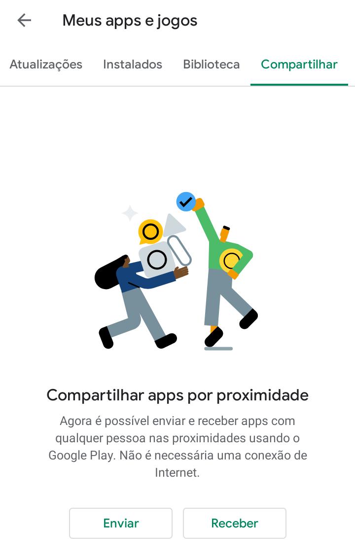 Compartilhe apps no android! Compartilhar arquivos e apps no android
