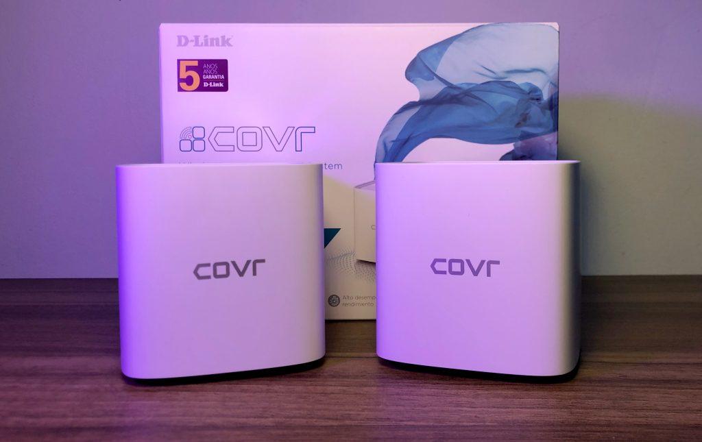 D-link covr-1102 com a caixa