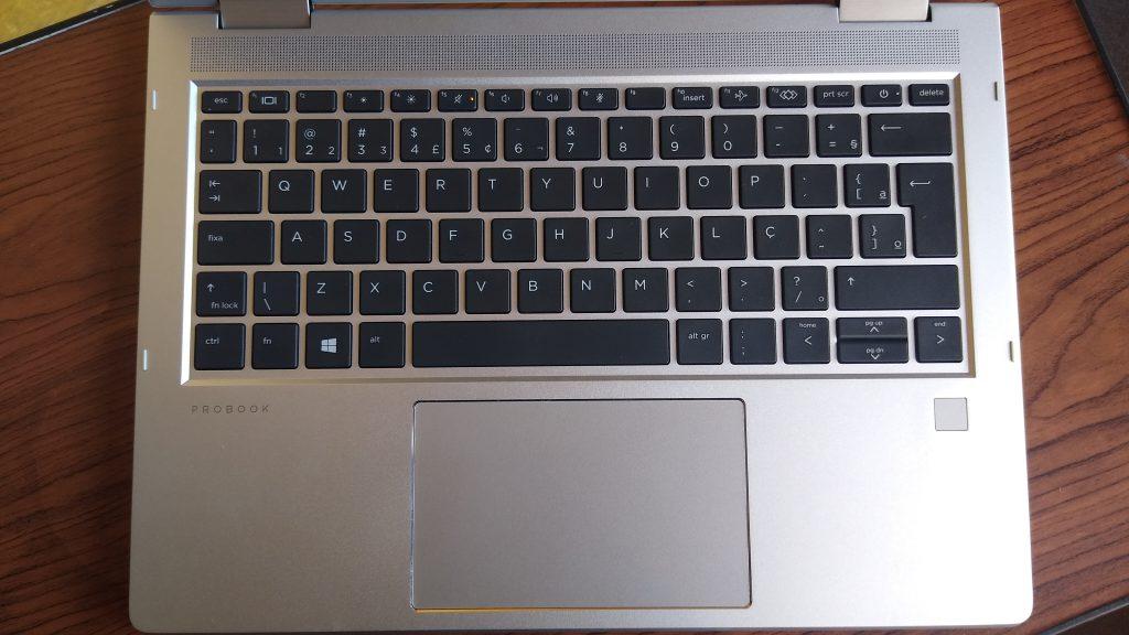 Hp probook x360 435 g7  teclado
