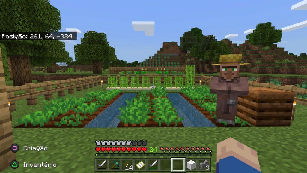 Com as dicas de minecraft para iniciantes será possível criar fazendas e ter uma ótima colheita