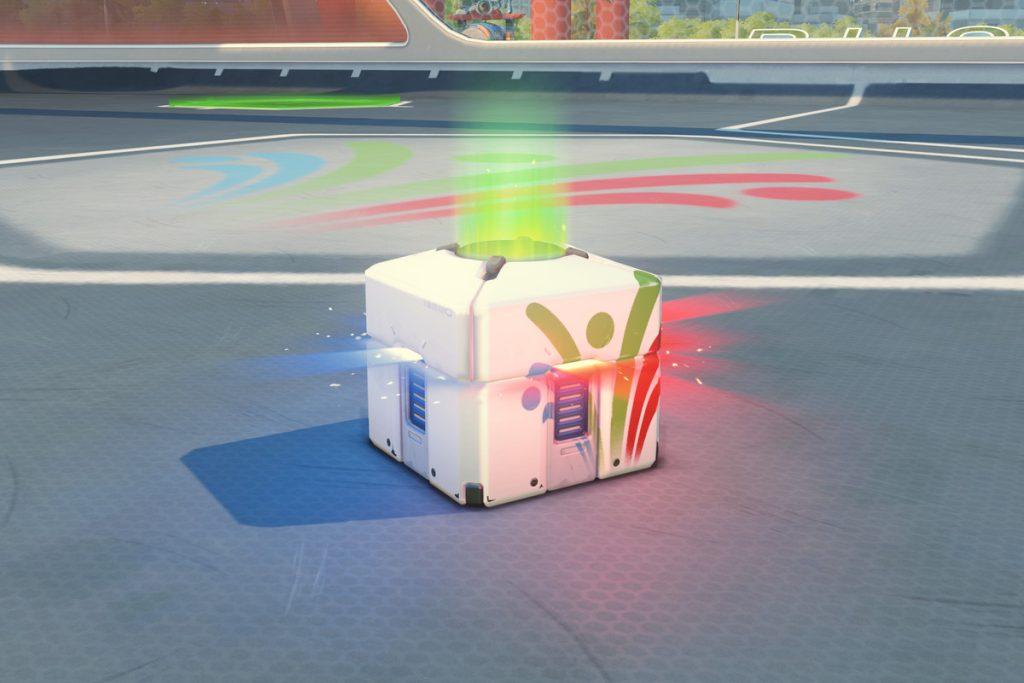 Loot box de overwatch