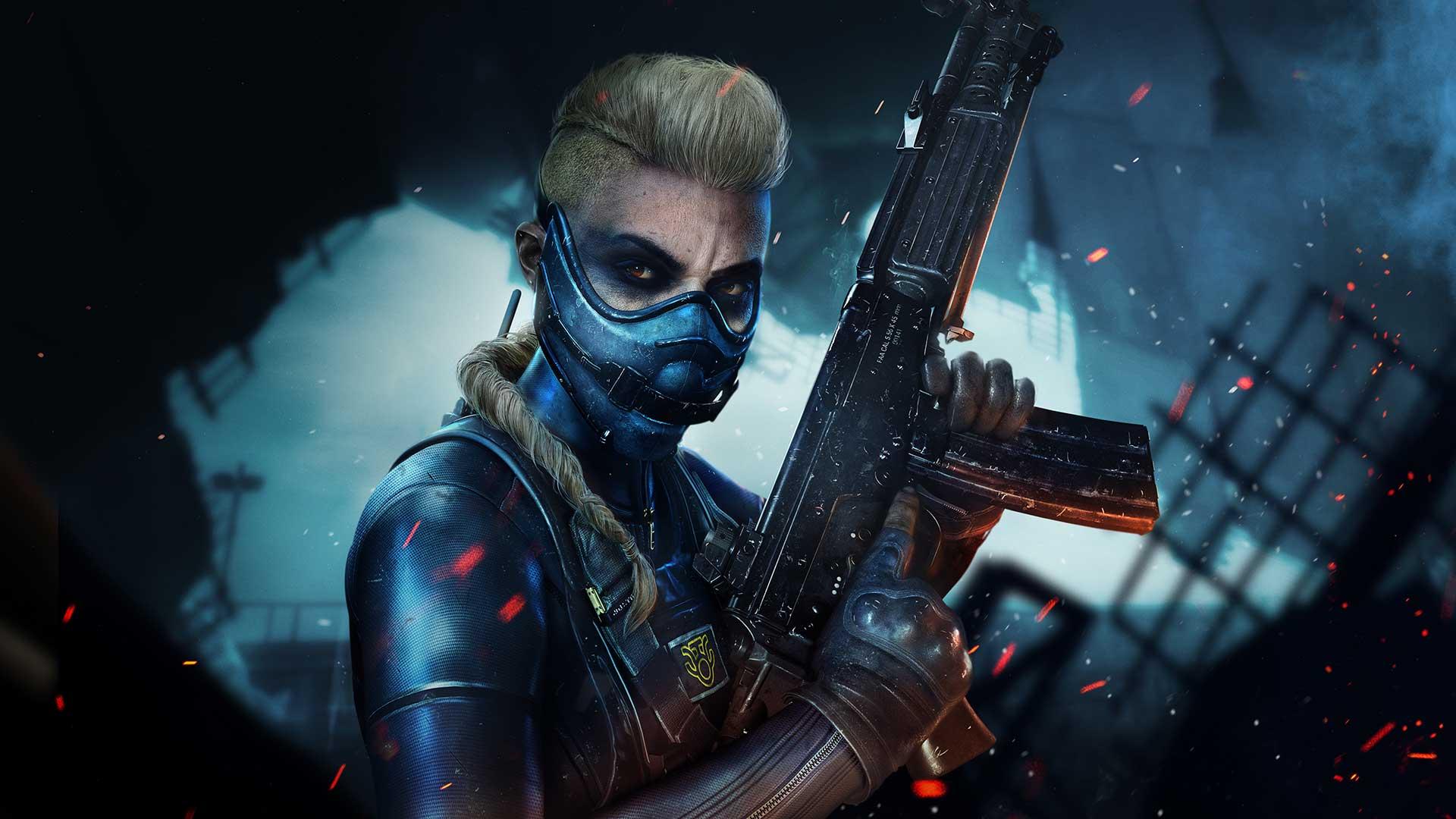 Wraith, a vilã e personagem destaque da season 3 de warzone
