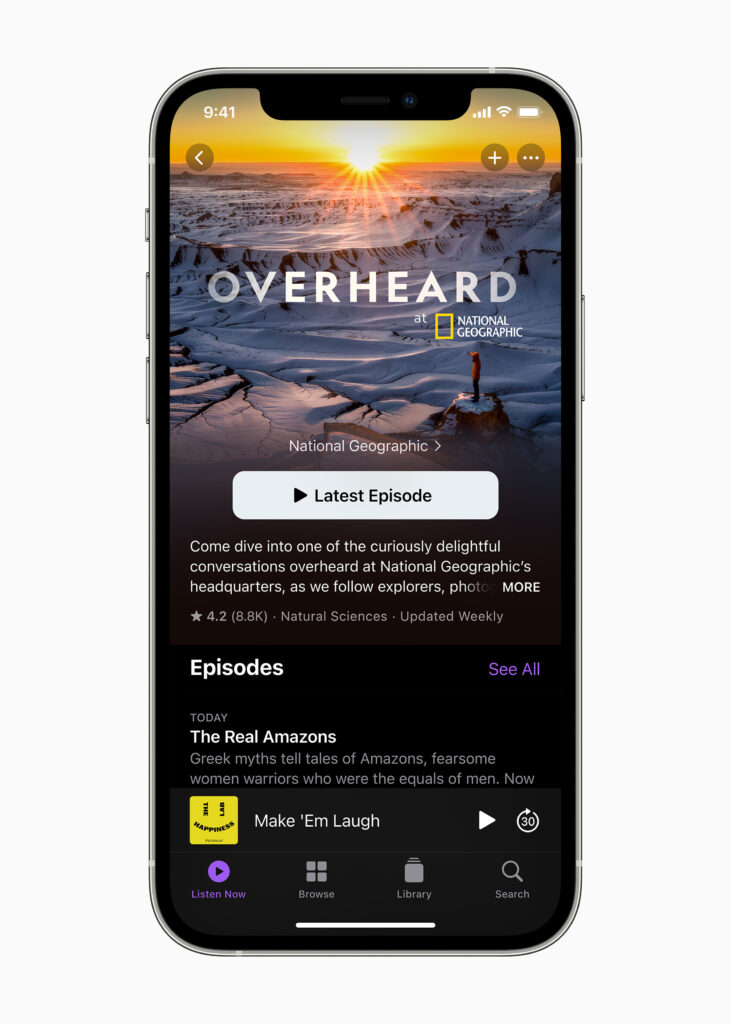 Podcasts ios 14. 5