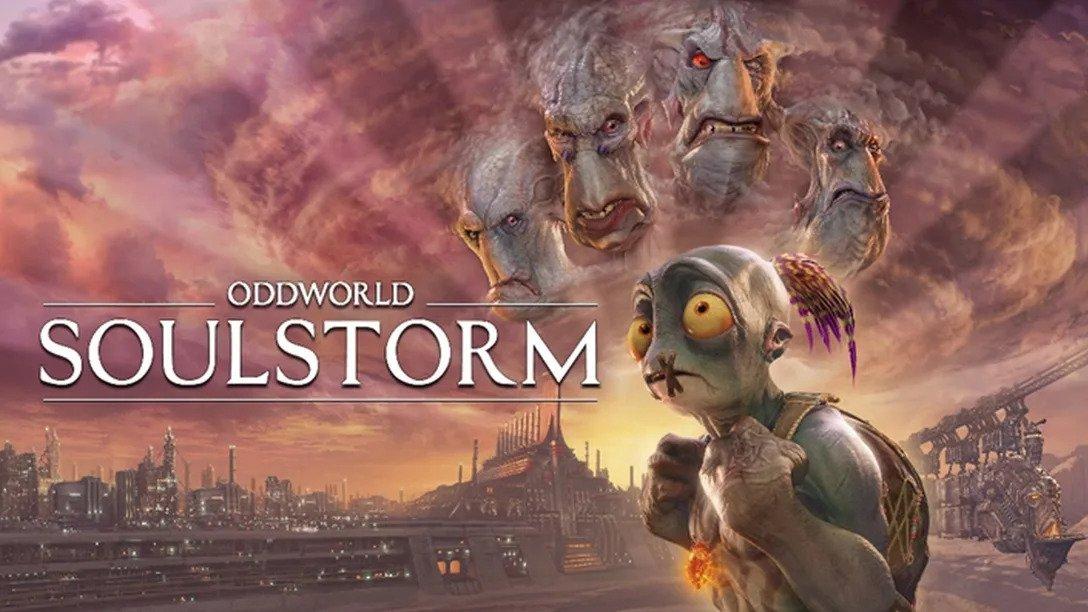 Oddworld soulstorm capa