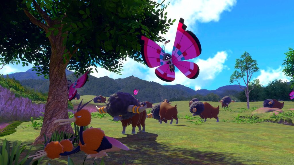 New pokémon snap conta com uma vasta quantidade de pokémon em diversos cenários.