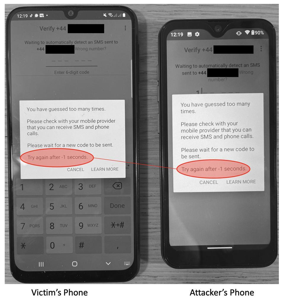 Mensagem quando o usuário fica sem acesso ao whatsapp