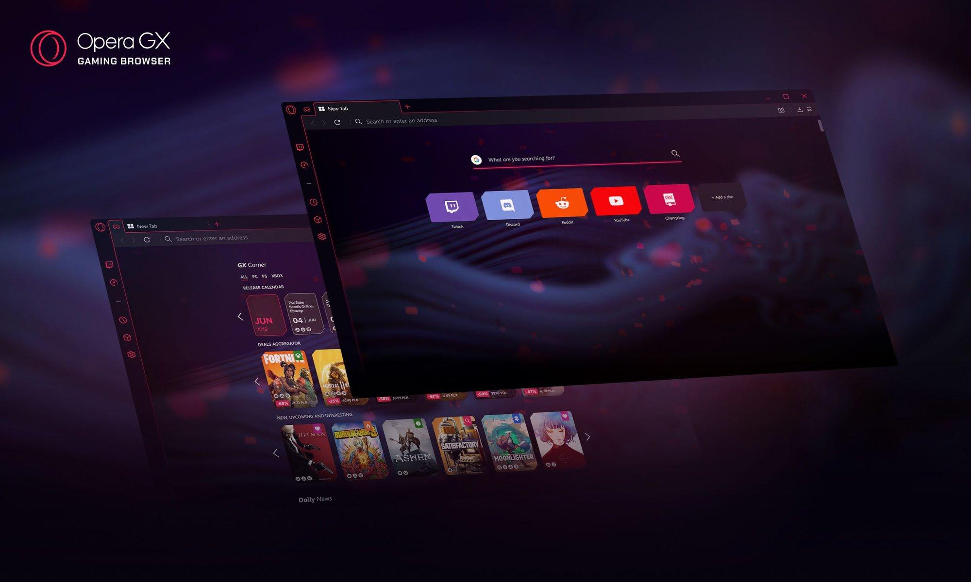 Opera gx o navegador gamer