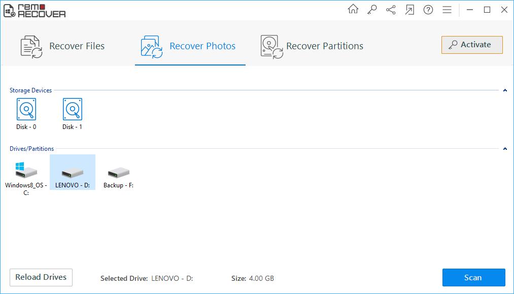 Aprenda a recuperar fotos excluídas com o remo recover. Para você que já quis ter de volta arquivos deletados da lixeira, preparamos um tutorial que te ensina usar o software remo recover para recuperar fotos excluídas