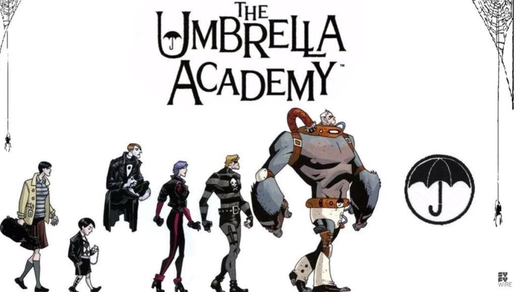 """Hq que ganhou adaptação em série na netflix, """"the umbrella academy"""" tem leitura gratuita na amazon"""