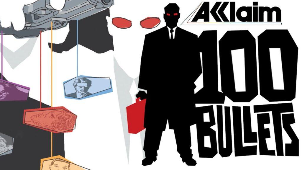 100 bullets estava pronto para ser lançado quando a acclaim faliu. Posteriormente, a d3publishing adquiriu os direitos para fazer um game baseado no quadrinho, mas devido a uma série de problemas, ele acabou sendo cancelado.