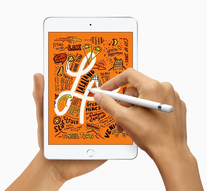 Tome notas com o apple pencil. Fonte: apple - dicas e truques do ipad