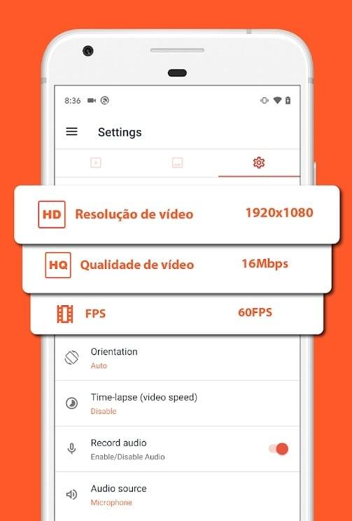 Como gravar a tela no celular android